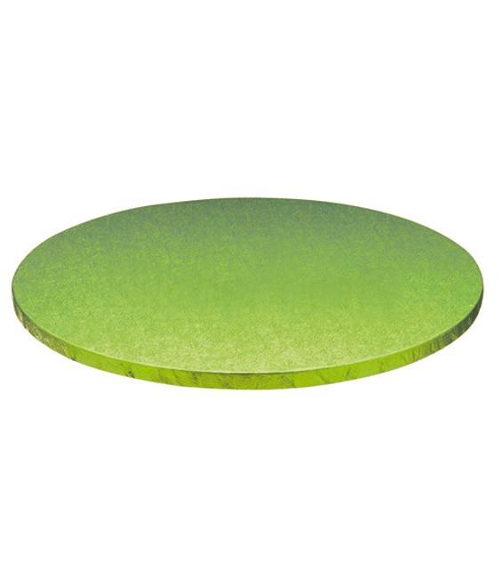 Stabile Runde Tortenunterlage Hellgrün, 35cm