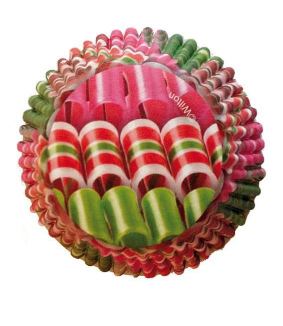 Muffinförmchen Ribbon, 36 Stück