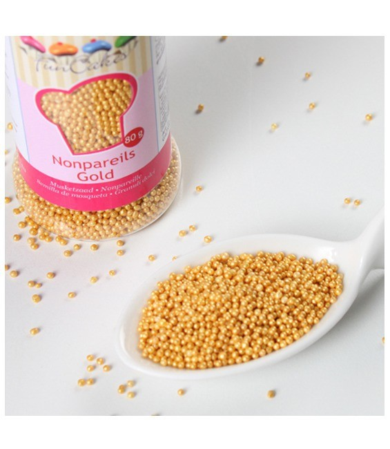 Nonpareils 80g, Gold