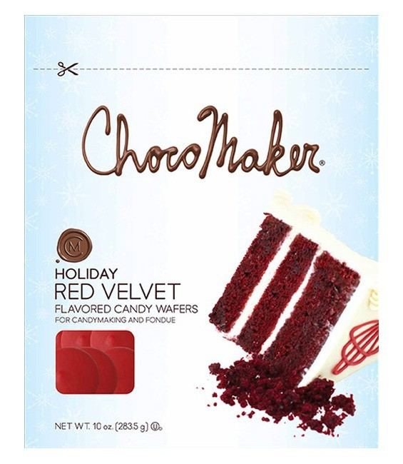 Candy Wafers, 283g Red Velvet