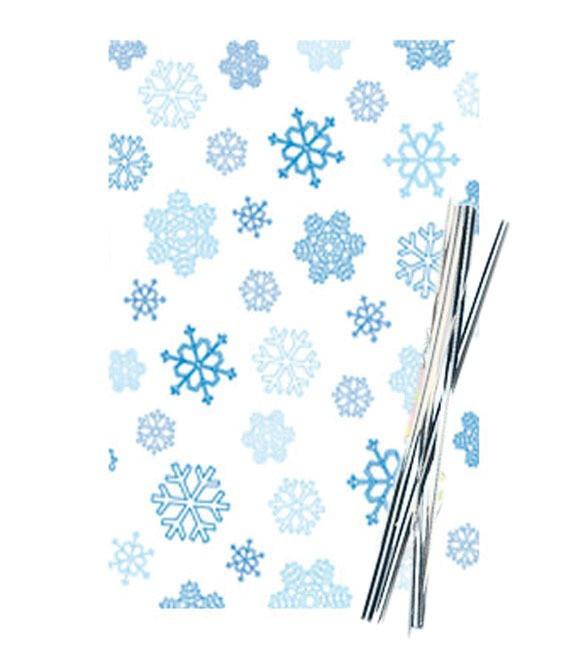 Poly- Klarsichttüten Winter, 25 Stück