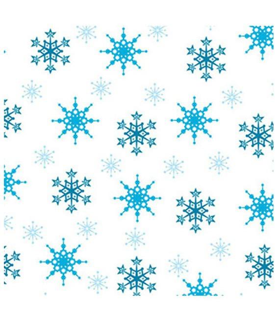 Pralinen Mini Alufolie Winter, 50 Stück