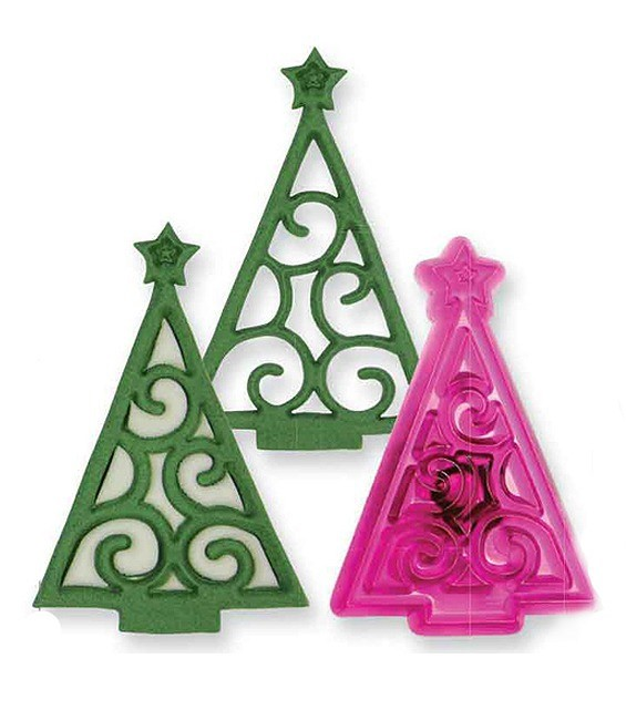 Fondant Ausstecher Weihnachtsbaum
