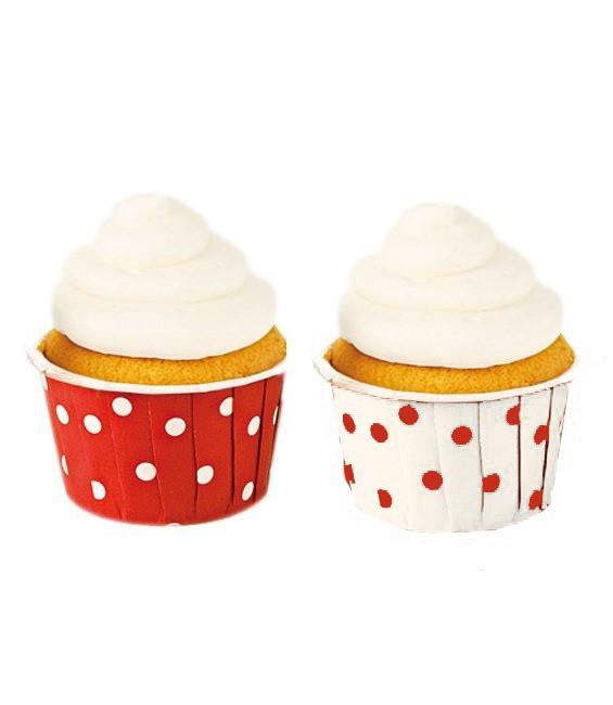 Muffinförmchen Polka Dot, 24 Stück