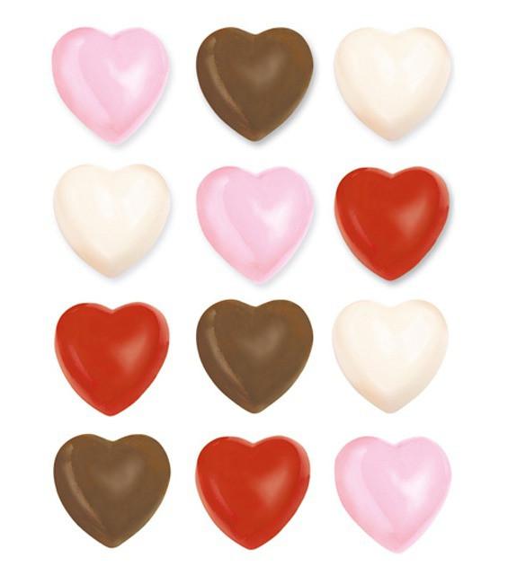 Pralinenform Herzen
