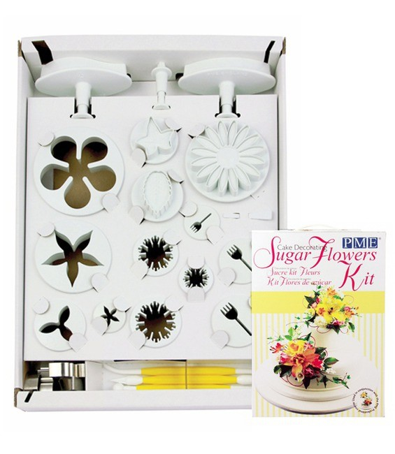 Cake Decorating Sugar Flowers Set