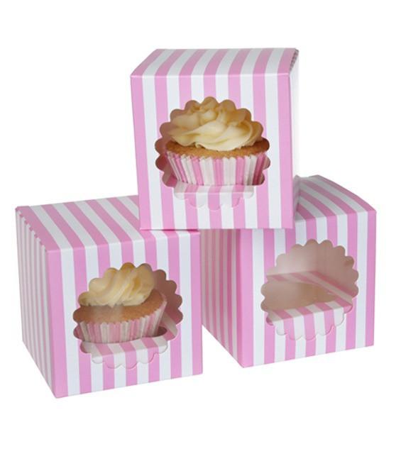 Cupcakes Pink Zirkus, 3 Stück