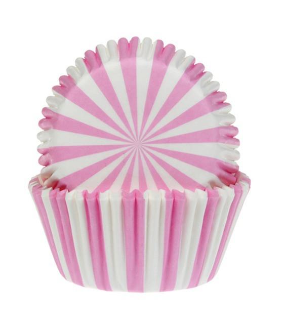 Muffinförmchen Pink Zirkus, 50 Stück