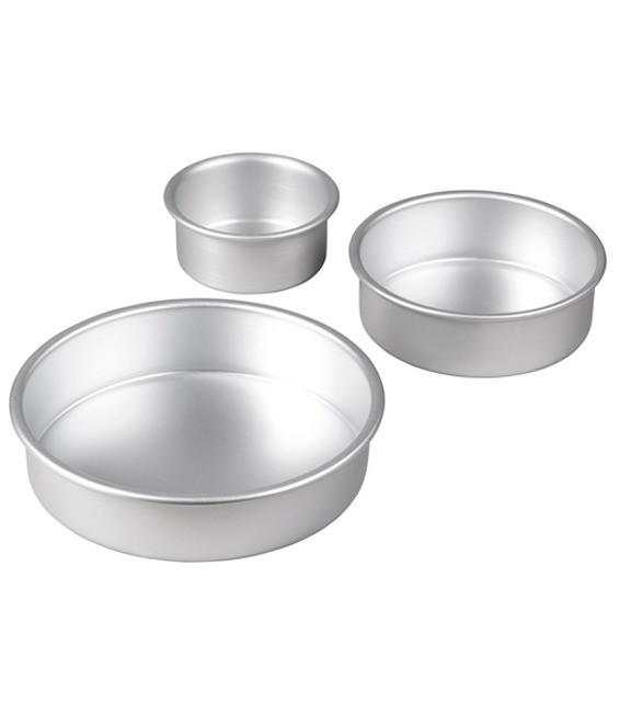 Backform Tiered Trio Round Pan, 3 Stück