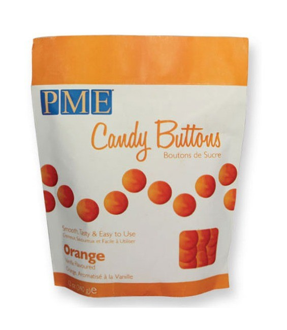 Candy Buttons Orange, 340g