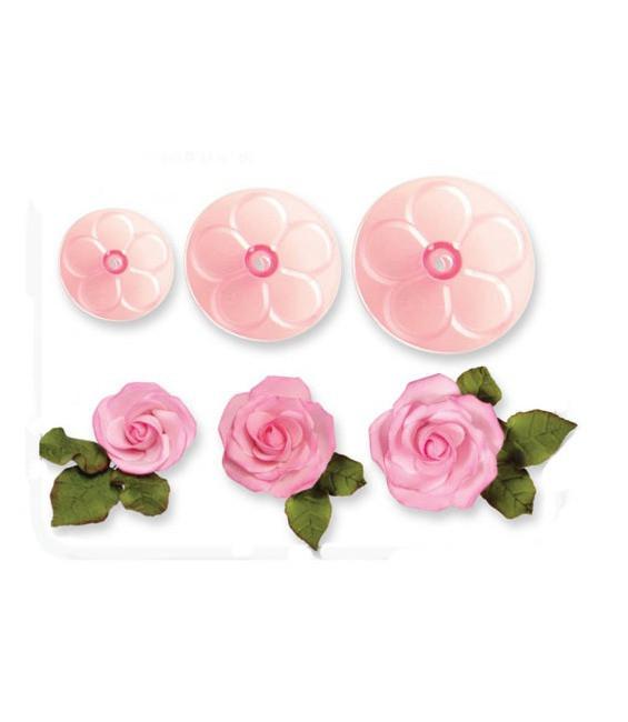 Easy Rose Cutter, 3-teilig