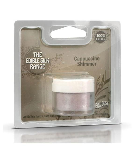 Edible Silk Shimmer Cappuccino