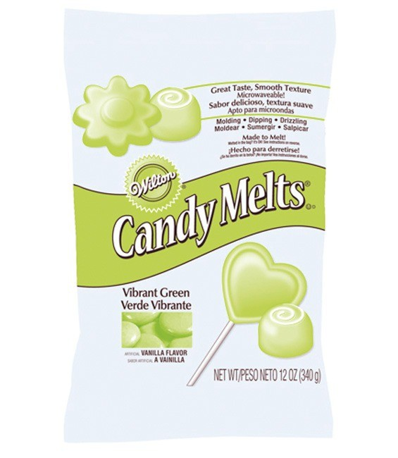 Candy Melts®, 340g Vibrant Green, 340g