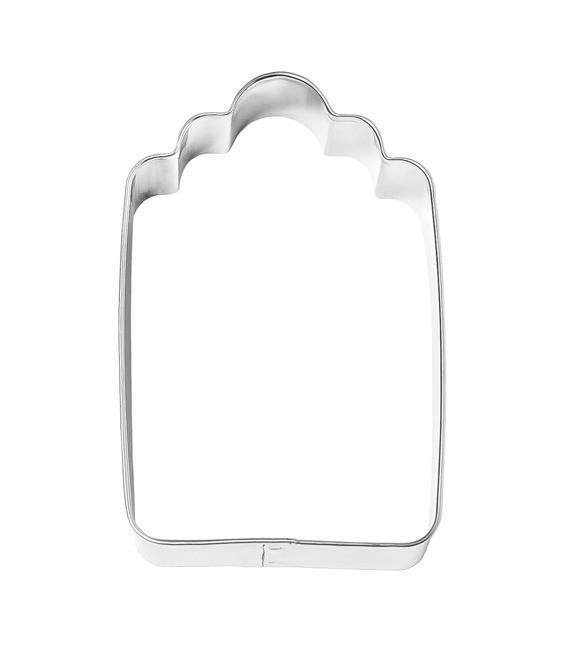 Ausstecher Etikett Avantgarde klein, 6cm