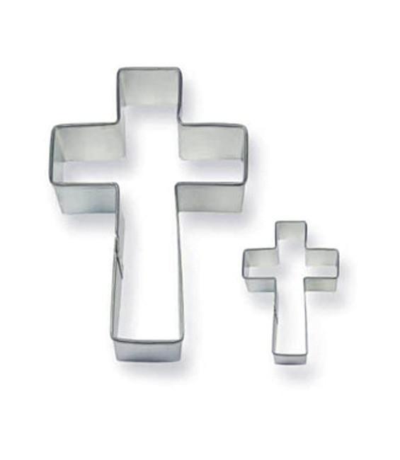 Ausstecher Kreuz Set, 2 Stück
