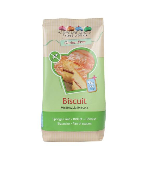 Biscuit Glutenfei, luftiger Tortenboden Mix, 500g