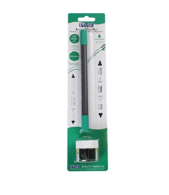Brush n Fine Pen -Dark Green-