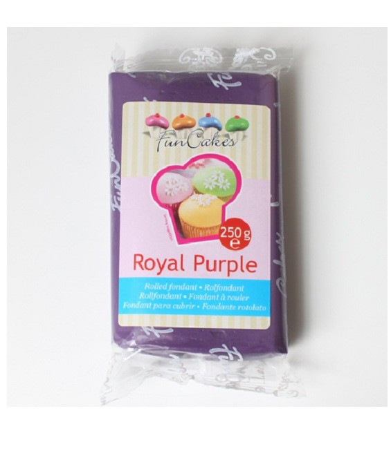 Fondant, 250g Royal Purpel