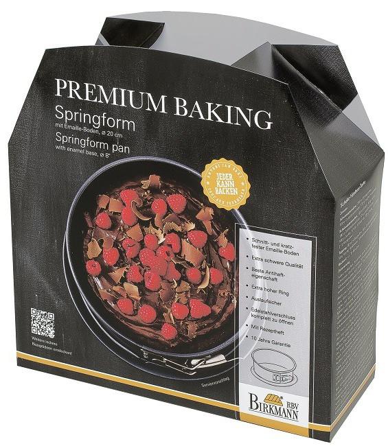 Premium Baking Springform, 20 cm