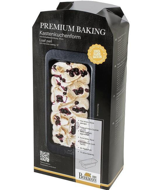 Premium Baking Kastenkuchenform, 25 cm