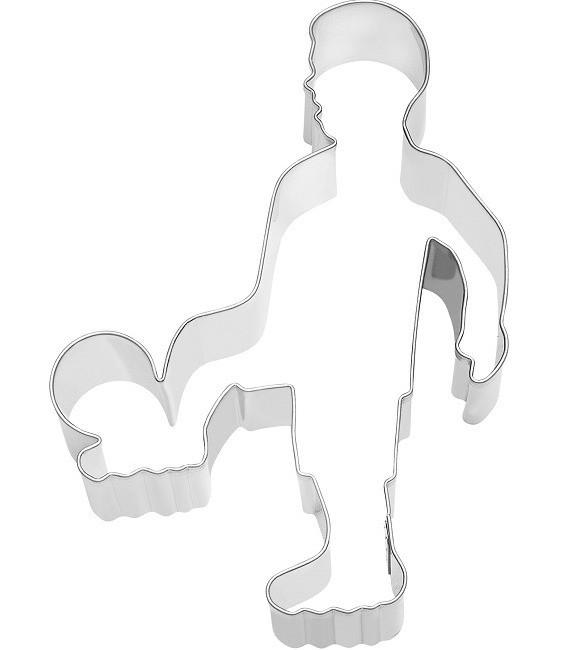 Ausstecher Fussballer, 11,5 cm
