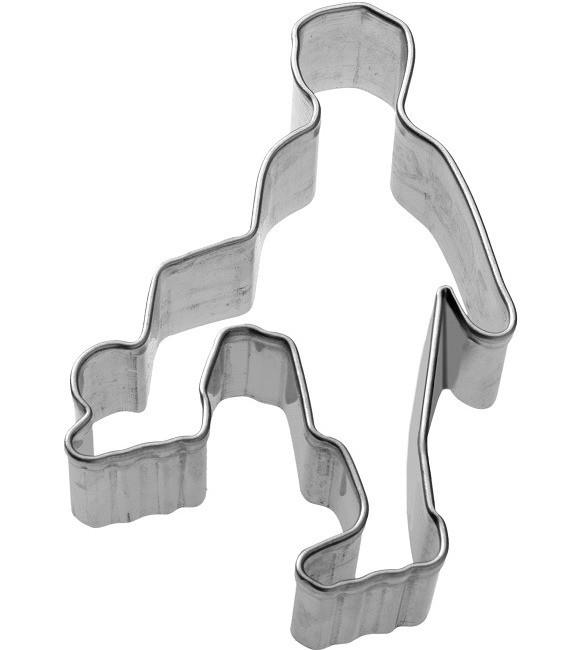 Ausstecher Fussballer, 7 cm