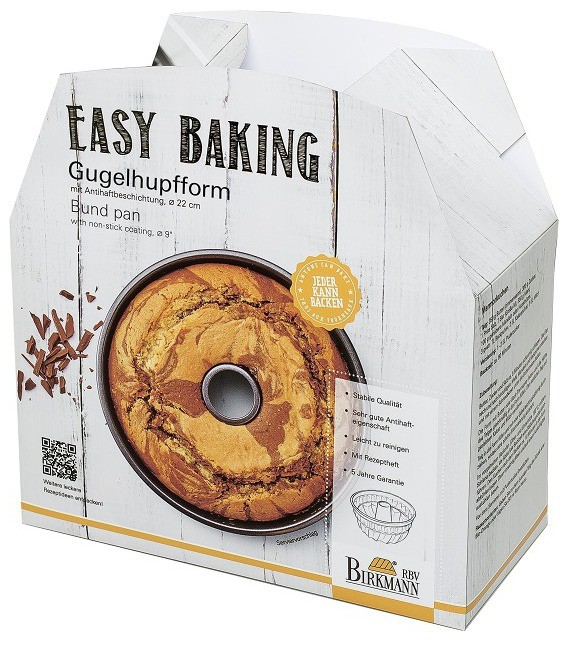 Easy Baking Gugelhupfform, 22 cm