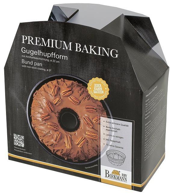 Premium Baking Gugelhupfform, 22 cm