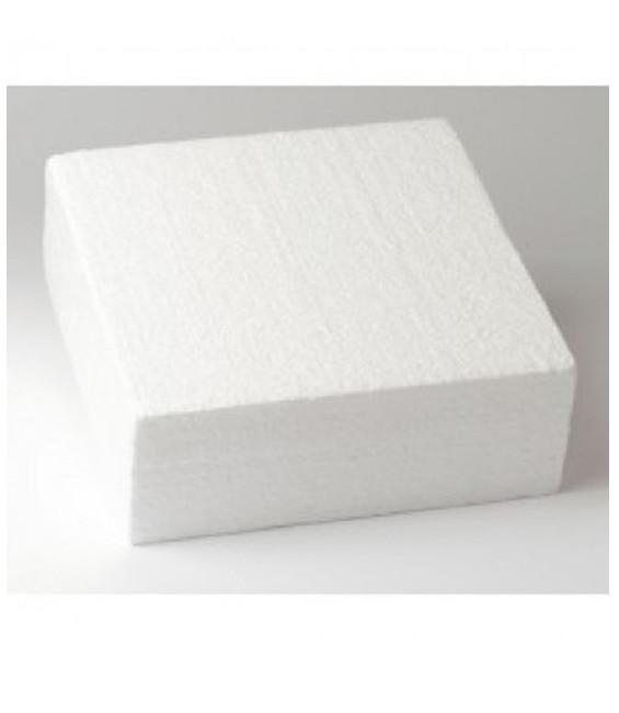 Dummie aus Styropor, quadratisch, 35 x 35 x 7,5 cm