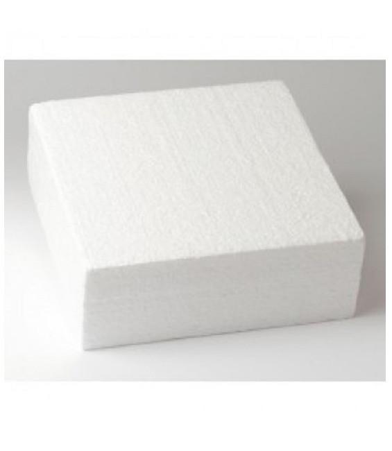 Dummie aus Styropor, quadratisch, 30 x 30 x 7,5 cm