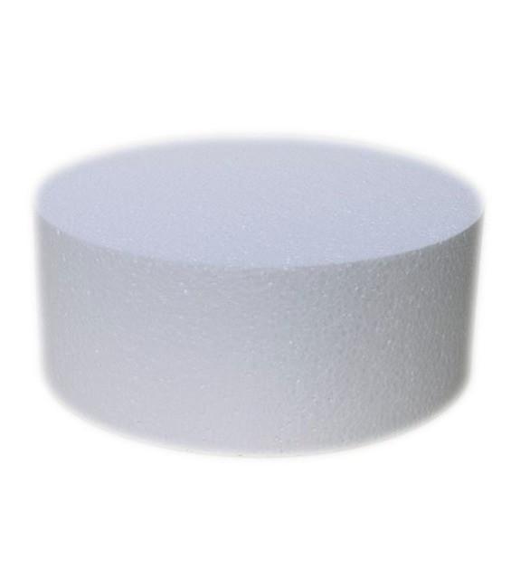 Dummie aus Styropor, rund, 15 x 10 cm
