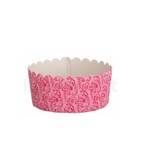Springform Papier-Backformen, 4 Stück, 13 cm, rosa