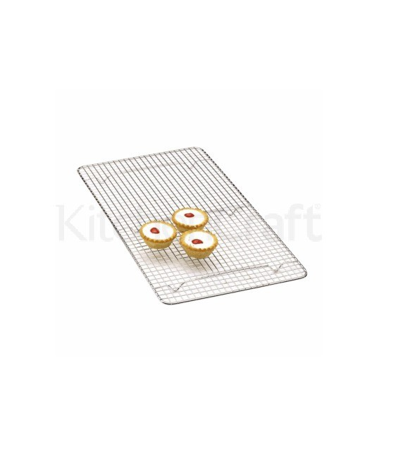 Kuchen Abkühlgitter, verchromt, 46 x 25,5 cm