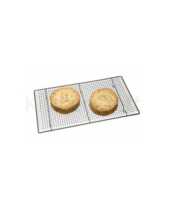 Kuchen Abkühlgitter, Antihaftbeschichtung, 46 x 26 cm Master Class