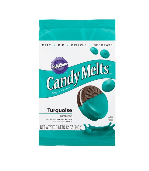 Candy Melts® Turquoise 340g