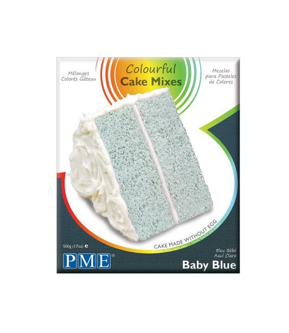 Cake Mix Baby Blue 500g