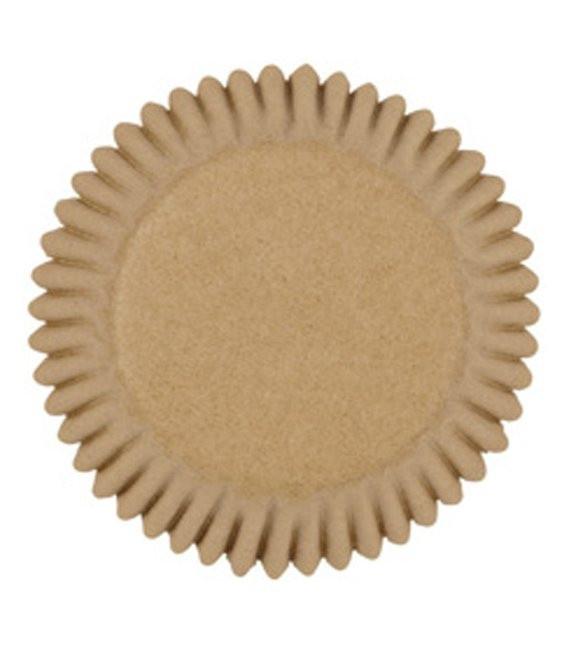 Muffinförmchen klein ungebleicht, 100 Stück
