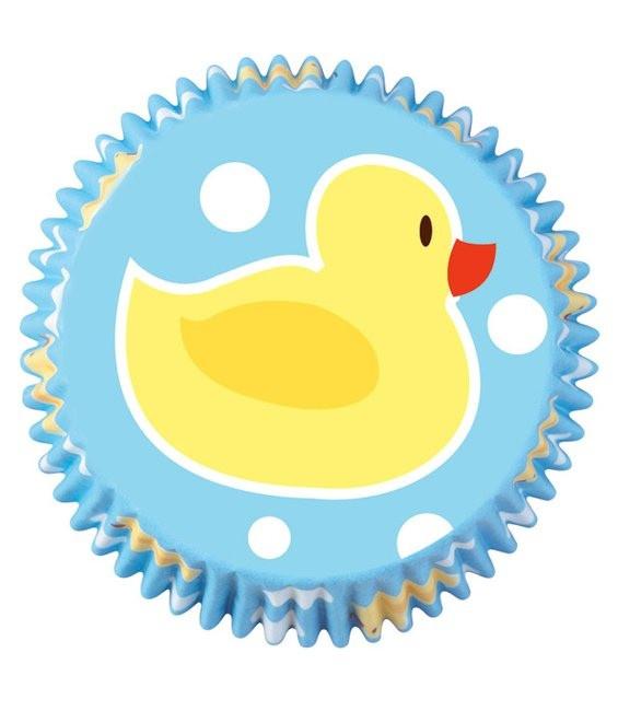 Muffinförmchen Ente, 75 Stück