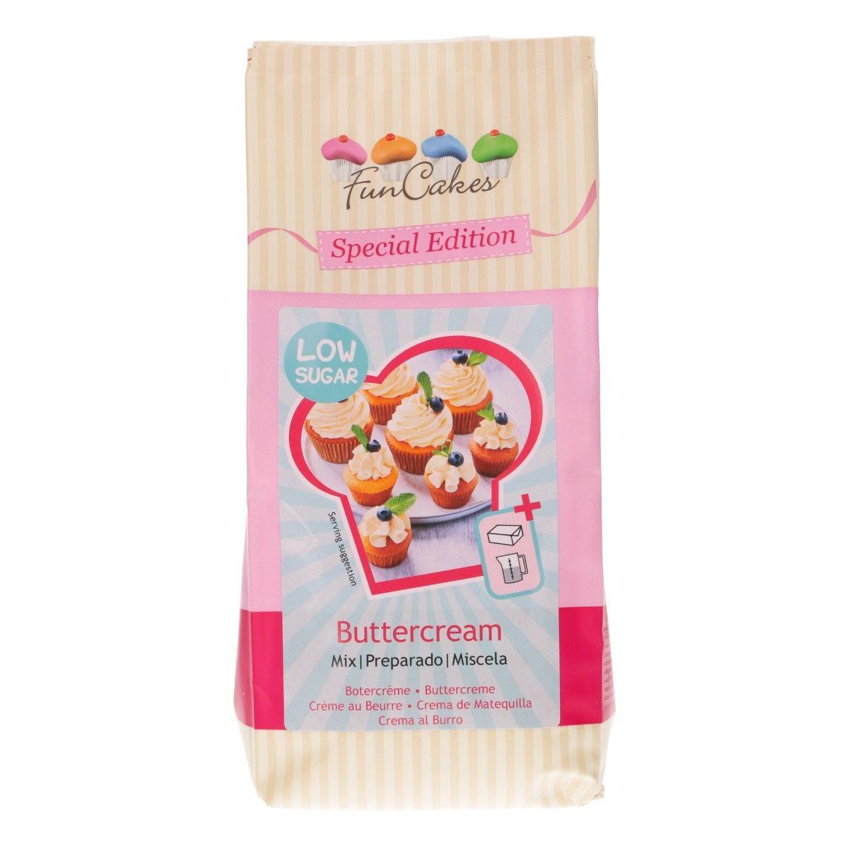 Buttercreme Mix - weniger Zucker - 400 g