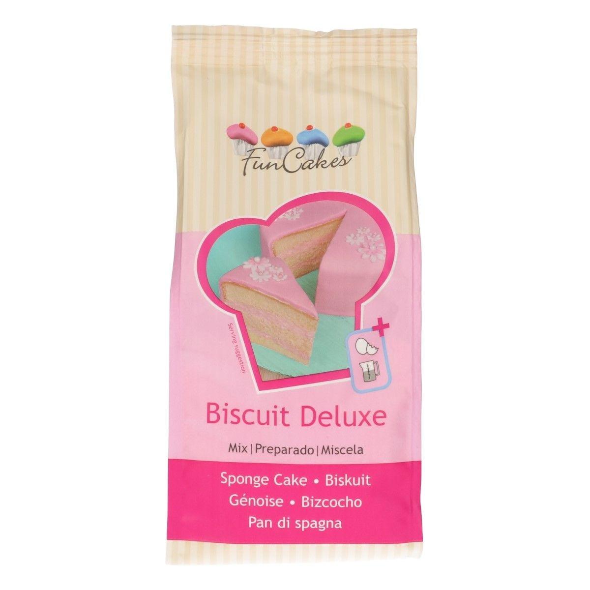 Biscuit, luftiger Tortenboden Mix, 1kg MHD 31.01.2010