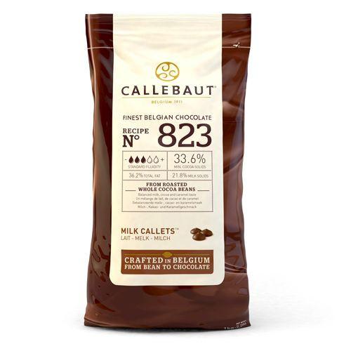 Callebaut Callets Milchschokolade, 1 kg
