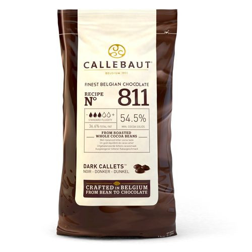 Callebaut Callets Dunkle Schokolade, 1 kg