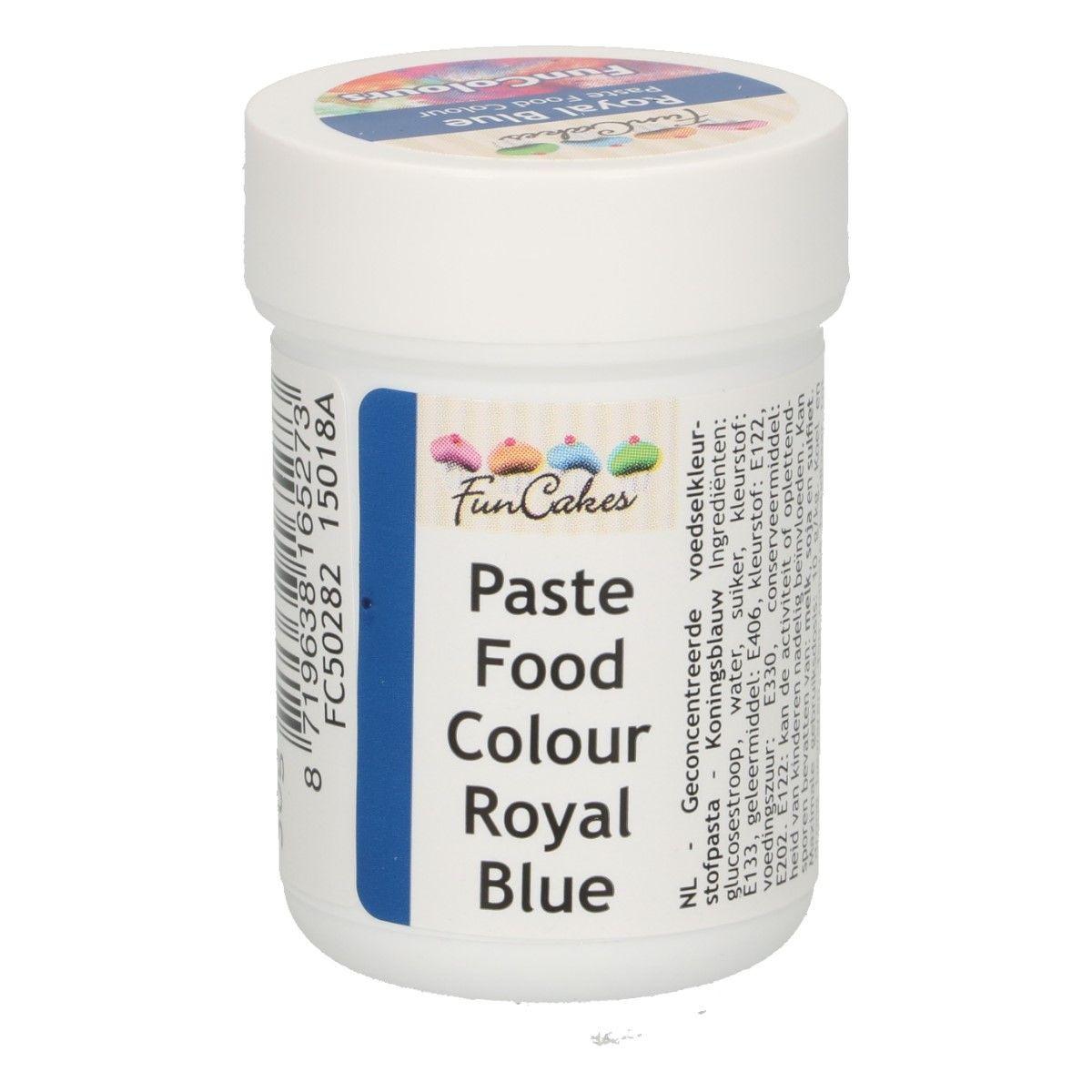 Funcakes FunColours Paste Food Colour - Royal Blue/Königsblau 30 g