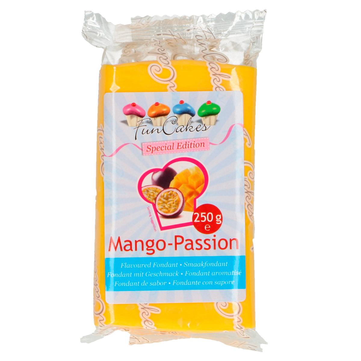 Geschmacks-Fondant, Mango-Passion