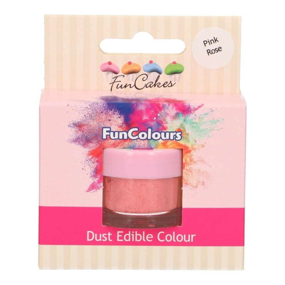 Dust Edible Colour - Pink Rose