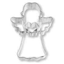 Ausstecher Engel mit Herz, 7,0cm