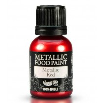 RD Metallic Food Paint Metallic Red