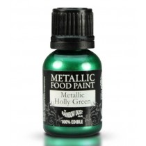 RD Metallic Food Paint Metallic Holly Green