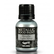 RD Metallic Food Paint Metallic Light Silver