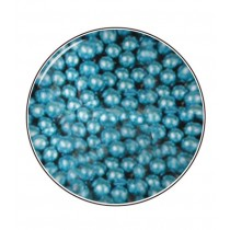 Metallic- Zuckerperlen 4mm 80g, Blau